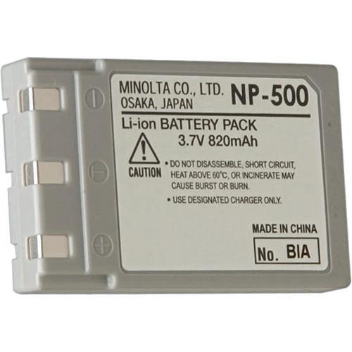 Minolta NP-500 Li-ion Battery for Dimage G500 (Konica Minolta Replacement Battery)