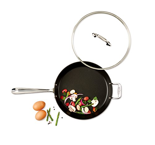 All Clad Ha1 Hard Anodized Nonstick Frying Pan With Lid