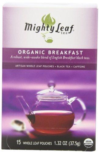 Ceylon Breakfast - Mighty Leaf Tea, Organic Breakfast --(Pack of 6)