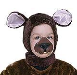 Forum Novelties Child Size Animal Costume Set, Brown Bear Hood and Nose Mask