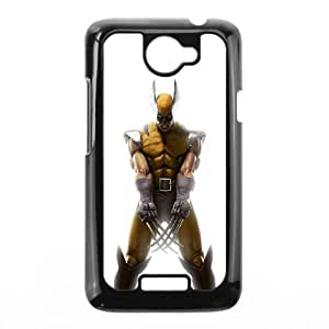 HTC One X Cell Phone Case Black Angry Wolverine OJ563280