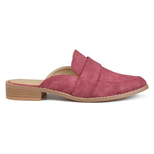 Mocassini Slip-on In Pelle Sintetica Brinley Co Womens Rosa