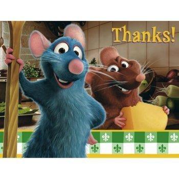 - Ratatouille Thank You Notes w/ Envelopes (8ct)