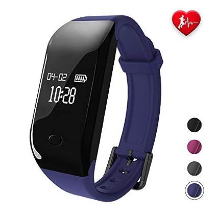Fitpolo Relojes Inteligente Mujer/Hombre/Niño, Pulsera de Actividad con Pulsómetro Pulsera, Deporte Reloj fit Podometro,Monitor de sueño,smartwatch ...