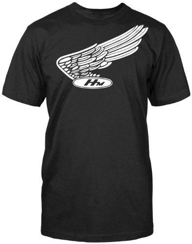 (Honda Men's Nostalgic Black T-shirt, XL)