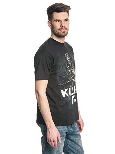 Dead It The Killin' Uomo Short Sleeve Nero Walking tHH75q