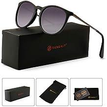 3bdf7538ab Vintage Round Sunglasses for Women Classic Retro Designer Style