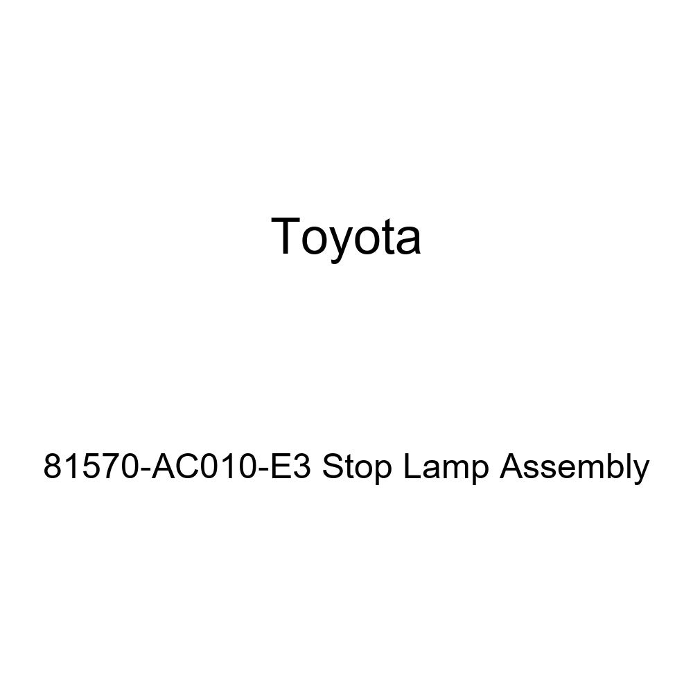 Genuine Toyota 81570-AC010-E3 Stop Lamp Assembly