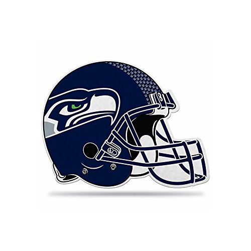 Rico NFL Seattle Seahawks Die Cut Pennant, One Size, Blue by Rico