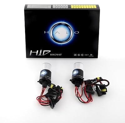Halo Automotive Premium 9003 6000K HID Xenon Replacement Bulbs