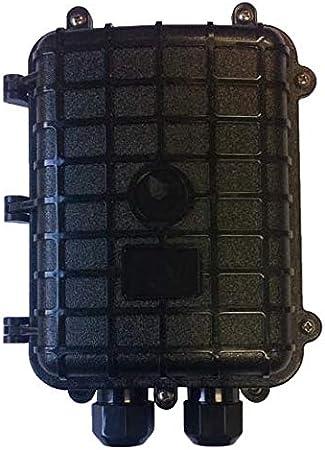 Caja de Empalme para Exterior de 2 Puertos para 24 Fibras: Amazon.es: Electrónica