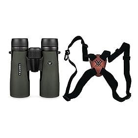 Vortex Optics D205 Diamondback 10x42 Roof Prism Binoculars With Vortex Harness Strap