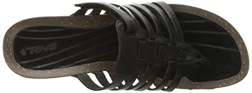 Thong Cabrillo Women's 3 Teva Wedge Sandal Black 7wP5I
