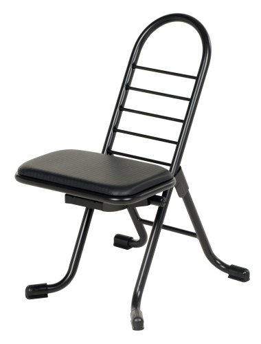 Vestil CPRO-200 Ergonomic Worker Seat Chair, 14 Width, 9 Depth, 220 lbs Capacity, 13 – 26 Height Range