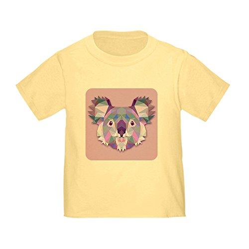 Royal Lion Toddler T-Shirt Triangle Koala Bear - Daffodil Yellow, 4T ()