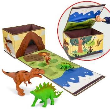 Ivy Step - Caja de Almacenamiento y Caja de Dinosaurio Plegable ...
