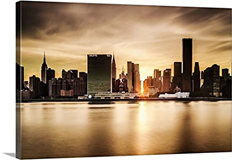 Amazon.com: Antonino Bartuccio Premium Thick-Wrap Canvas Wall Art ...