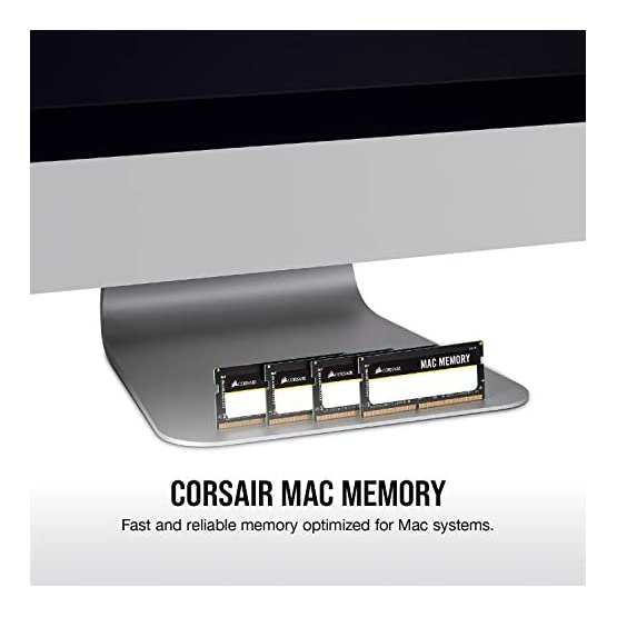Corsair Apple Certified 16GB (2x8GB) DDR3 1333 MHz PC3 10666 Laptop Memory (CMSA16GX3M2A1333C9) 41GX0WDIv3L. SS555