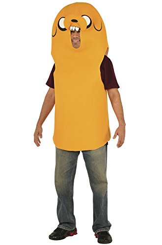 Rubie's Men's Adventure Time Jake Costume, Yellow, Standard -