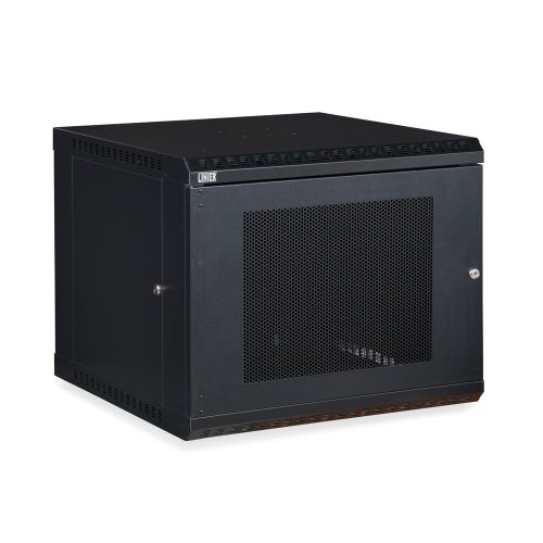 Fixed Wall Mount Cabinet (9U LINIER Fixed Wall Mount Cabinet - Vented Door)