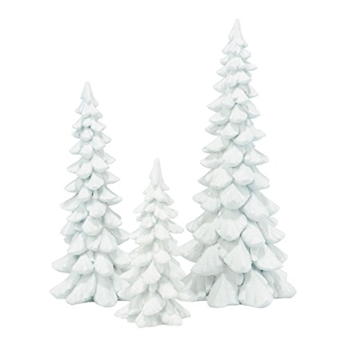 Department 56 Accessories for Villages Holiday Trees Figurine, White