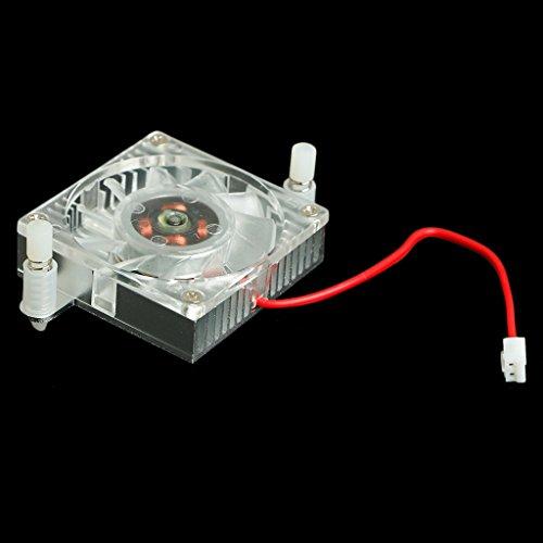 SCASTOE Replacement 40mm 12V 0.10A 2 Pin PC GPU VGA Video Card Heatsink Cooling Fan