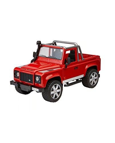 Price comparison product image Bruder Toys Land Rover Defender Pick Up [Colors May Vary]