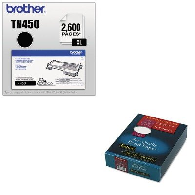 UPC 510000747503, KITBRTTN450SOU3162010 - Value Kit - Southworth Quality Bond 1 Sulphite Paper (SOU3162010) and Brother TN450 TN-450 High-Yield Toner (BRTTN450)