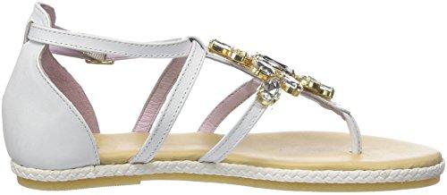 405 5 11 White Leather Pulsera Stonefly Mujer cloud Hueso Con Sandalia 150 Para Lux tFxwEq51