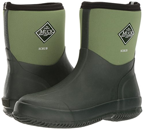 Pictures of The Original MuckBoots Adult Scrub BootGarden Green3 4