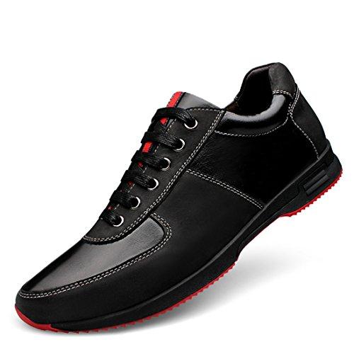 Minitoo LHEU-LH0918, Chaussures de Running pour Homme - Noir - Noir, 39
