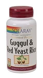 Amazon.com: Solaray - Guggul & Red Yeast Rice, 120