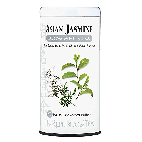 (The Republic of Tea, Asian Jasmine White Tea, 50-Count)