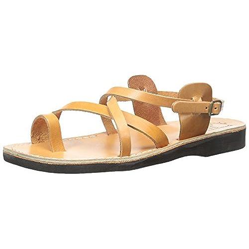 b654a970adb7 Jerusalem Sandals Men s The Good Shepard Buckled Toe-Ring Sandal  well-wreapped