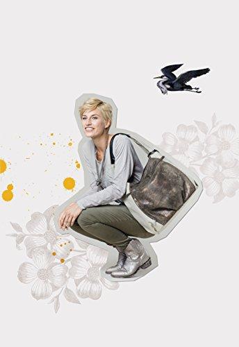 Lässig bolso cambiador Casual Hobo bag, Oliva/Beige