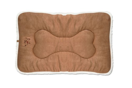 Best Pet Supplies Double-Sided Crate Mat, X-Large, Light Brown Suede Review