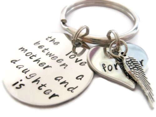 Sympathy Mother and Daughter Key Chain