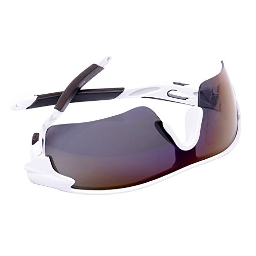 Baiyu Unisex Cycling Sunglasses Outdoor Sports UV400 Protection Wrap Goggles for Running Driving Riding Golf Fishing for Men Women 9 Colors - Cycling Glasses Bloc