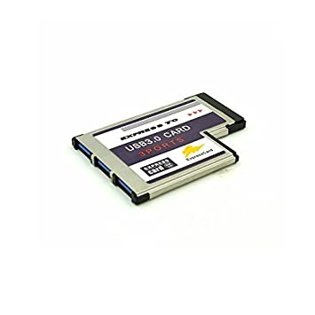 Tarjeta PCMCIA ExpressCard USB 3.0 Super Speed (54 mm/3 ...