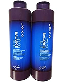 Joico Color Balance Blue Shampoo & Conditioner 33.8 oz Liter Duo