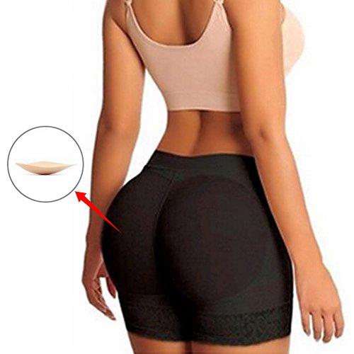 JGOTIM Womens Fake Buttock Briefs Butt Lifter Padded Control Panties Hip Enhancer Underwear Shapewear Boyshort