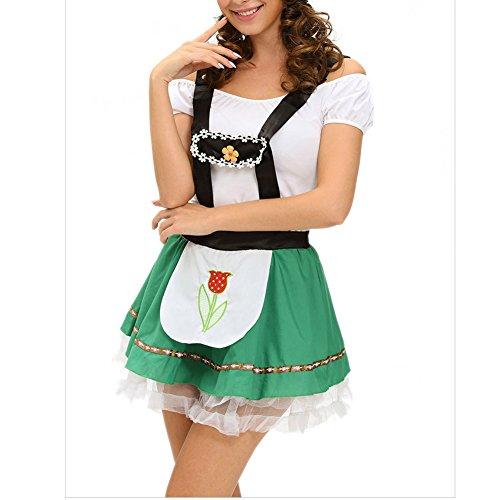 [Elakaka Sexy Hoffbrau Lady Oktoberfest Costume(Size,L)] (Oktoberfest Costumes Australia)
