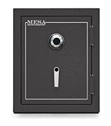 Mesa Safe MBF2620C All Steel Burglary and Fire Safe with Combination Lock, 4.1-Cubic Feet, Hammered Grey Review