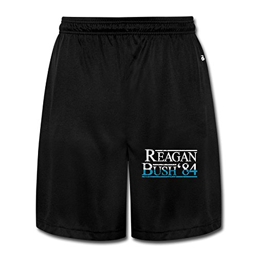 Reagan Bush '84 Republican Presidential Campaign Best Man Short Lounge Pants (Reagan Bush 84 Poster compare prices)