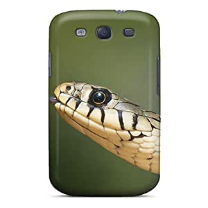 Awesome Case Cover/galaxy S3 Defender Case Cover(european Grass Snake)
