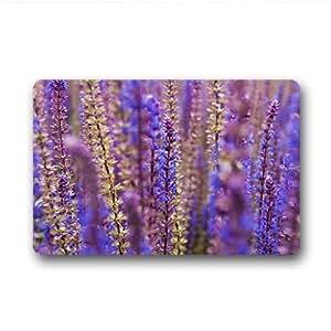 """Custom Lavender Doormat Outdoor Indoor 18""""x30"""" about 46cmx76cm"""