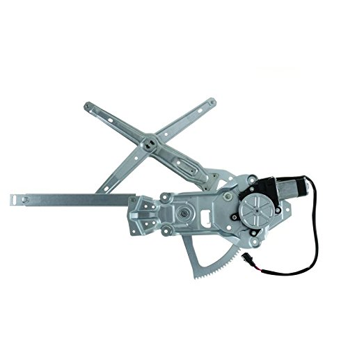(NEW POWER WINDOW REGULATOR AND MOTOR ASSEMBLY FOR BMW 525I, 535I, 540I, M5, NG, 530I, 1988-1997 FRONT RIGHT 51321944070, 741-411)