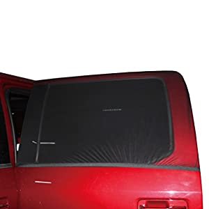 XL Universal Car Sun Shades Cover for Rear Side Window Provides Maximum UV Protection for Baby, Children, Kids and Dog. Best Quality Mesh Material-EXTRA LARGE SIZE