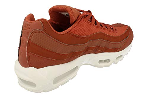 Nike Air Max 95 Premium SE Mens Running Trainers 924478 Sneakers Shoes (UK 7.5 US 8.5 EU 42, Dusty Peach White 200) by Nike (Image #2)