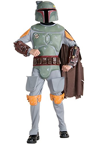 Rubies Deluxe Boba Fett Child Costume-Medium